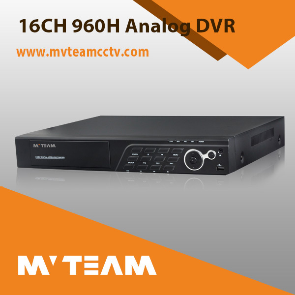 16CH 960H Real Time Recording DVR H264 With P2P turkish language