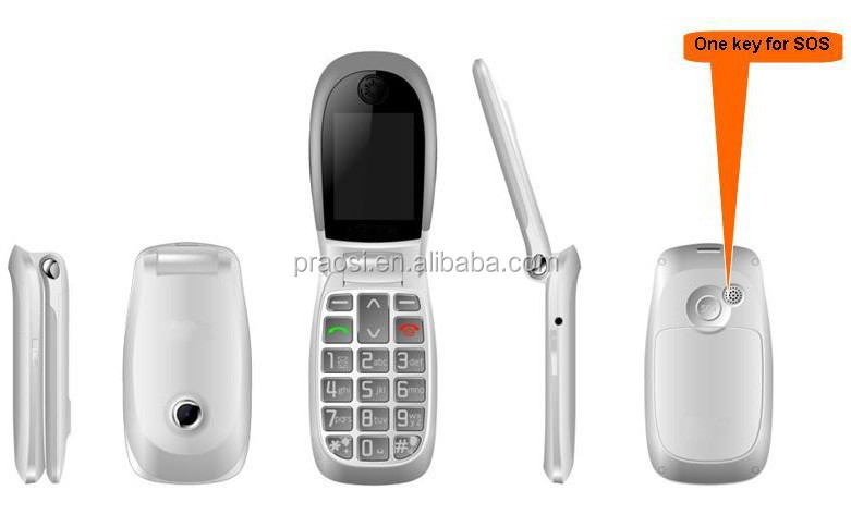 Cheap Senior Mobile Phone With Good Quality,Flip 3g Dual ...