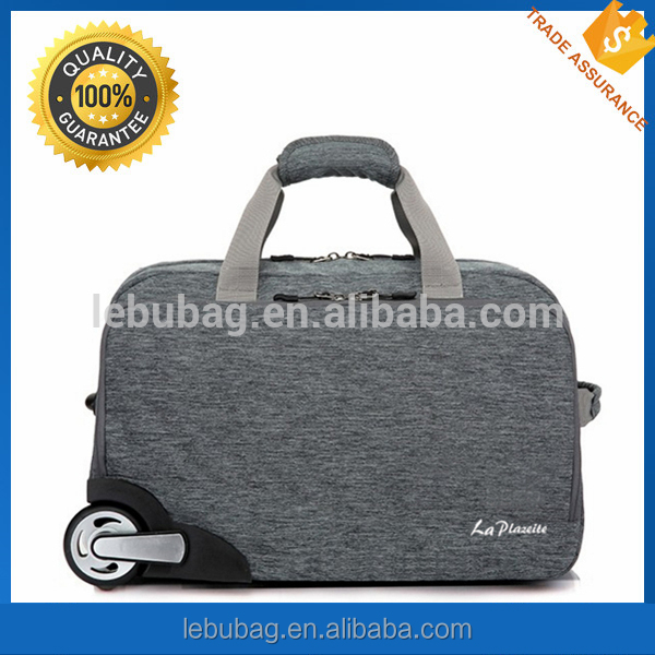 Waterproof hand rolling suitcase laptop polo trolley luggage bag