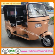 2014 Chinese Hot Cheap Popular Motorized 3 Wheeler Passenger Bajaj Tuk Tuk for Sale
