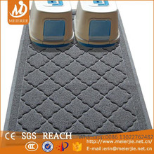PVC coil Rectangle shape Cat litter mat