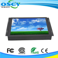 Metal Case 4 Wires Resistive Input 10 Inch Open Frame LCD Touch Screen Monitor