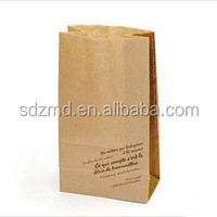 food bag 2ply craft paper, Bio-degradable.