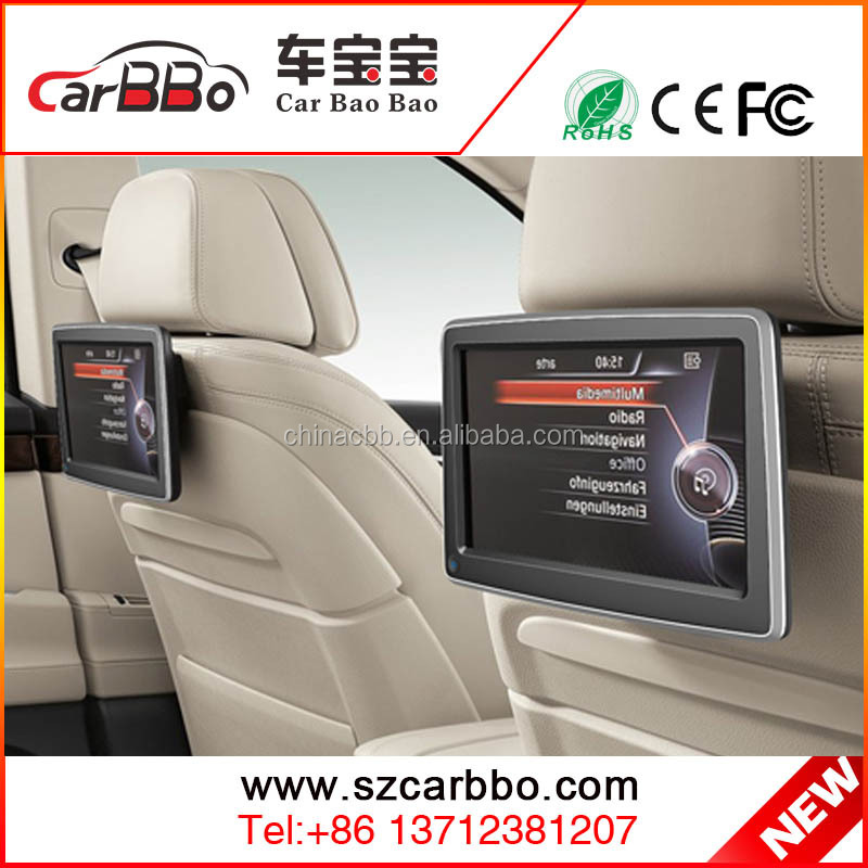 FHD 1080P universal 10.1 inch android car headrest monitor with wifi bluetooth usb sd card FM