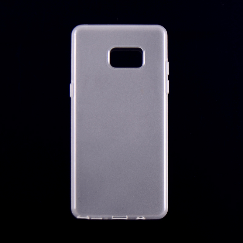 Mobile phone TPU case for Samsung note6 soft back cover