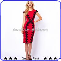 Design your own formal dress,red color with embroidery big x letter long dresses