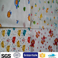 2015 baby diapers soft loop magic frontal tape velcro fabric printed raw material