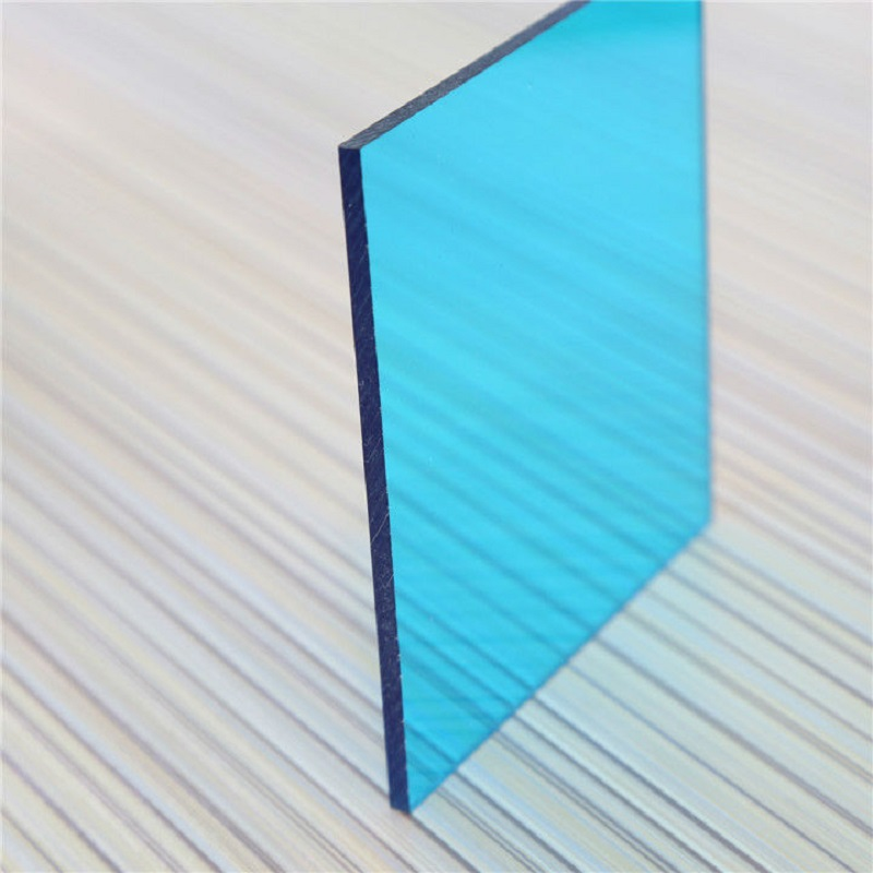 XINHAI uv protection 100% GE Lexan 3mm 4mm 5mm 6mm 8mm 10mm 12mm solid polycarbonate sheets clear color