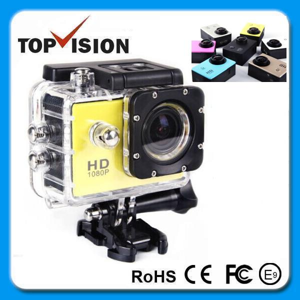 Sport Action Camera Diving Full HD DVR DV Min 30M Waterproof extreme Sport Helmet Action Camera 1920*1080P G-Senor Motorbike Ca