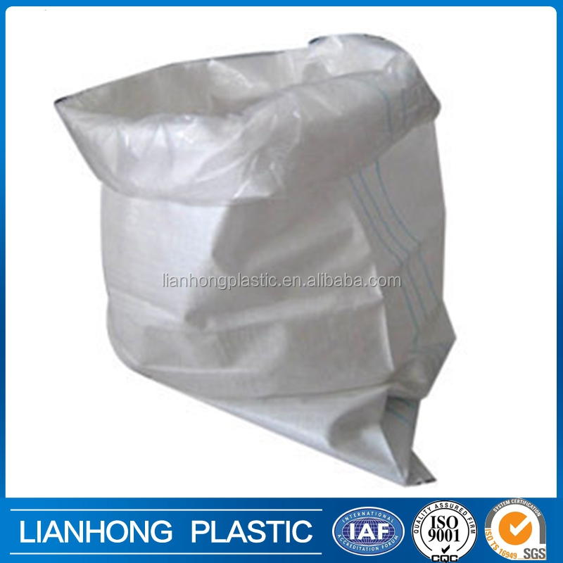 Durable woven polypropylene bags wholesaler in Shandong, empty sack for agricultural sugar packing, 50kgs cheap plastic bags.