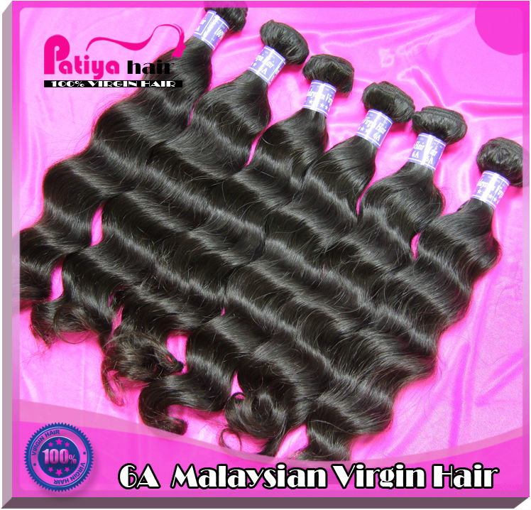 New products in china market hot sale on alibaba malaysia,no process original malaysian loose wave hair of 7 days return policy
