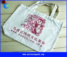 canvas tote bag promotion with logo custom