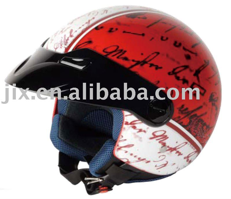 2015 DOT/ECE motor cycle safety helmet open face ABS Helmets JX-B250
