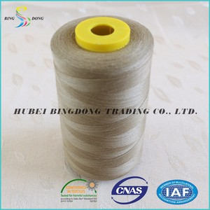 High quality cheap 100% spun polyester sewing thread 20/3 of spun yarn