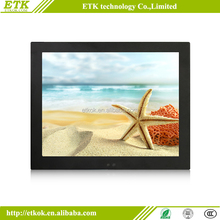 10.1 inch capacitive touch screen monitor open frame metal case for kiosk