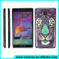 Painting Plastic Case for samsung note 4 ,for note 4 Animal Case