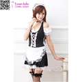 New Women Cosplay Black French Maid halloween costumes bulk L15511