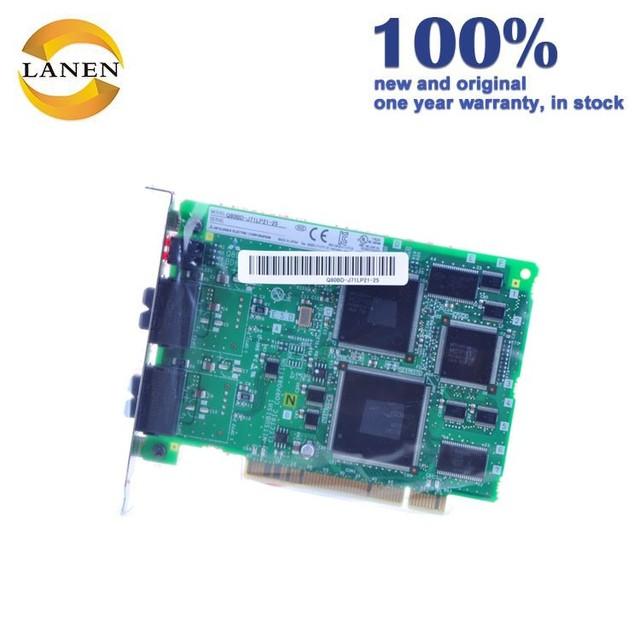 In Stock Mitsubishi PCI Bus Interface Board Q80BD-J71LP21-25 Melsecnet/10H Module Controller