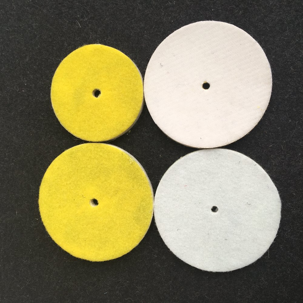 3 inches hook backed fet polishing pad OEM packing