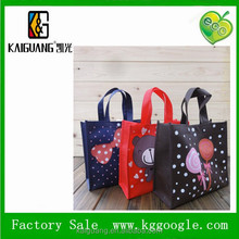 2015 hot selling Non woven CUTE shopping bag recycle bags