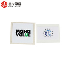 tamper resistant anti counterfeiting 13.56 mhz paper nfc label
