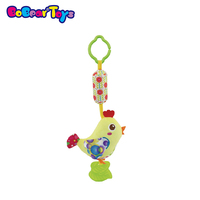 BobearToys hot sale toys baby lathe baby bed hanging chick wind chimes infant teethers animal babies toys