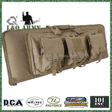 Military MOLLE deluxe double rifle gun case bag