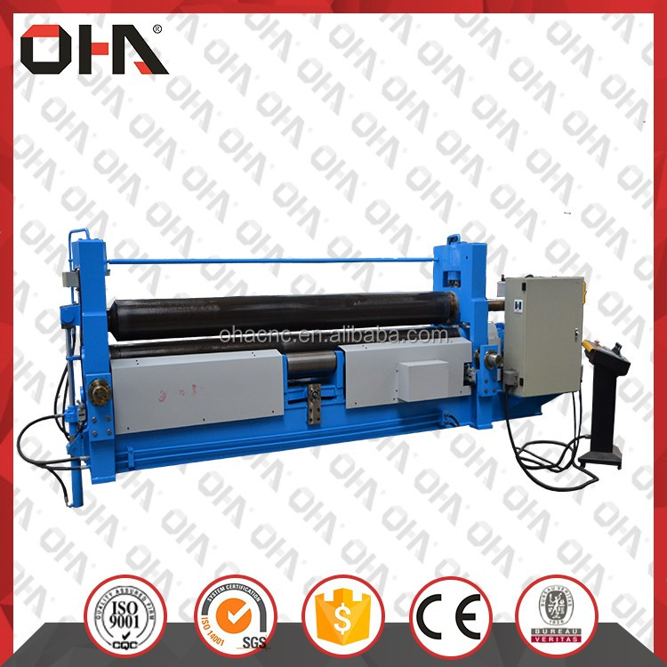 OHA <strong>W11S</strong> series NC universal hydraulic rolling machine/three-roll plate bending machine <strong>W11S</strong>-12x2000