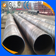 API 5L X52 SCH40 Spiral rubber coated steel pipe