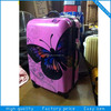 Stylish printed PC/ABS wheeled luggages sets.