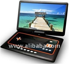 "13.3"" Wide TFT 16:9 Swivel LCD Screen Portable DVD Player"