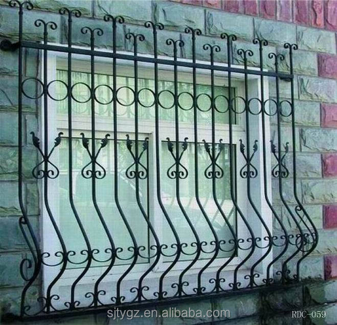 Modern style pictures of windows wrought iron