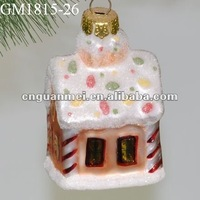 Glass christmas tree decoration------pretty house