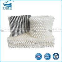 Evaporatine cooling pad water air cooler with large superficial area