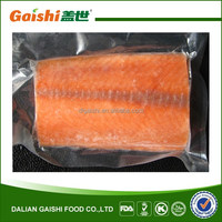 2014 New Crop I.Q.F. Frozen pink salmon Fillet Portions