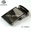 2015 Gaolibao wholesale high quality man belt buckle 35mm semi-auto SL-358662