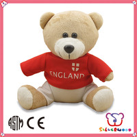 ICTI Factory custom wholesale handmade stuffed 6 month old baby toys