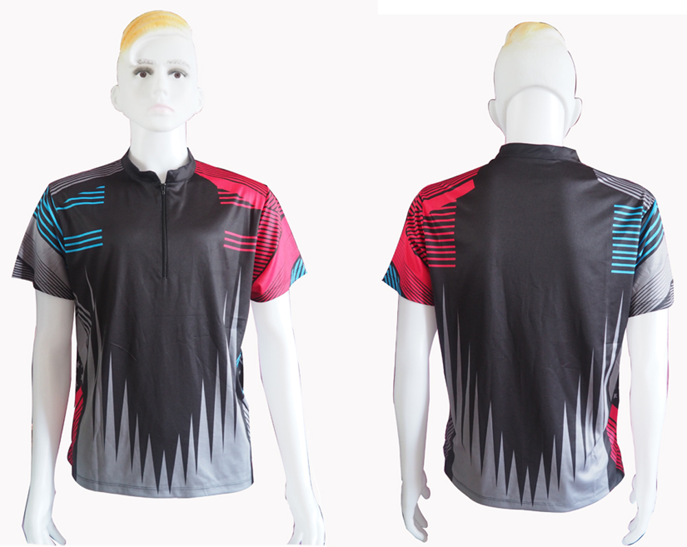 Sports Apparel Sublimation Printing T shirts With wicking fabric