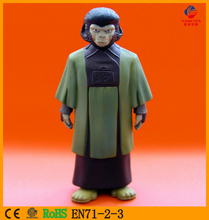 Making vinyl action figure toy prototype/plastic vinyl toy mold/plastic anime ape animal shape toys made in china