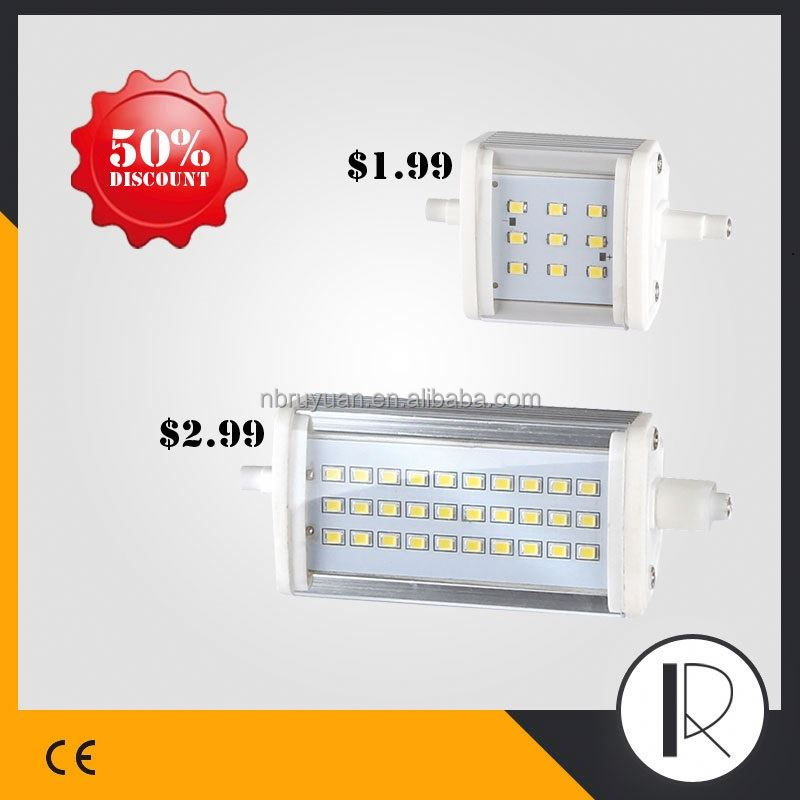 1013 high lumen r7s led 78mm 80mm bulbs lamp 4000lm 3000 lumen light 117mm 254mm lighting led r7s slim dimmable 118mm r7s led