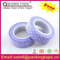 High quality famous brand Washi tape flower