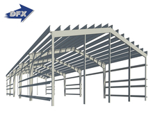Easy Installation Prefabricated Light Steel Structure Shed