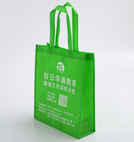 Wholesale custom fancy shoulder pp nonwoven bag laminated shopping bags