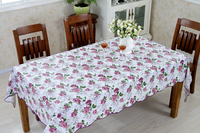 Home Textile Plastic PVC Table Cloth in Pieces