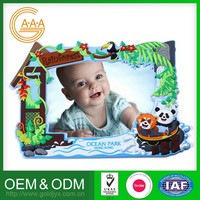 Low Price Customized Oem Various Shapes Nice Design 3D Soft Pvc Picture Photo Frames