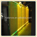 waterfall curtain spot side glow fiber optic hotel lighting for party decoration