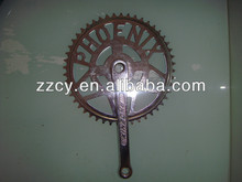 PHOENIX Brand chainwheel with crank set with single speed