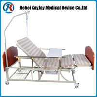 china supplier hospital furniture electric hospital bed parts with three function