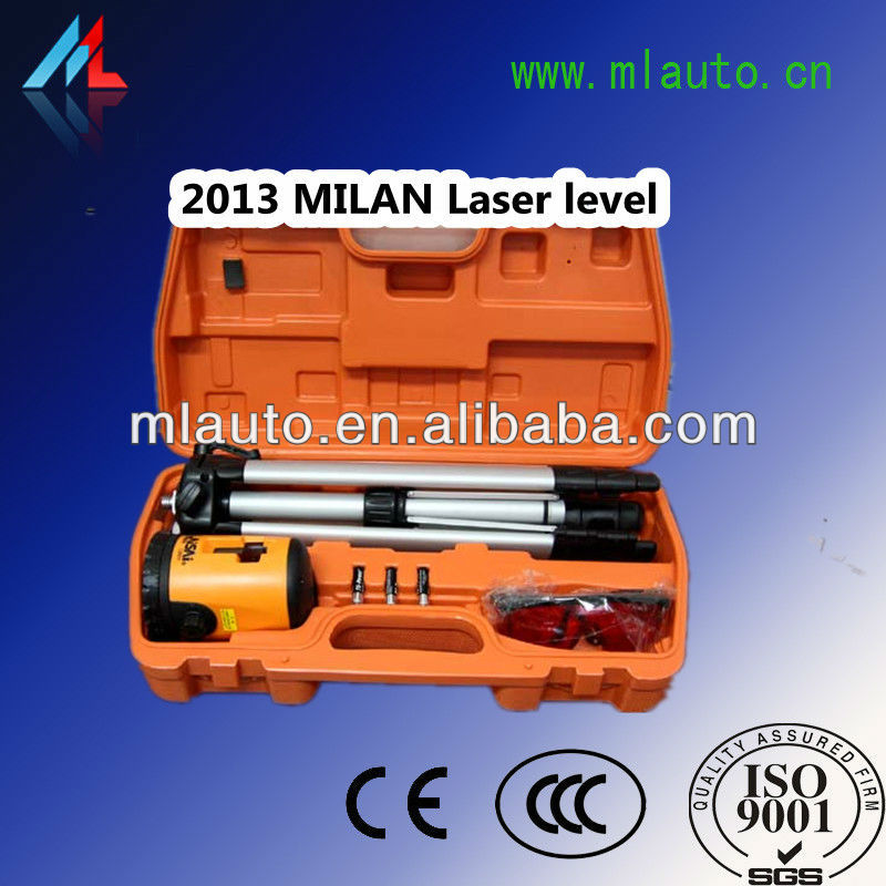 Milan The laser positioning level automatic level adjustment to headlight