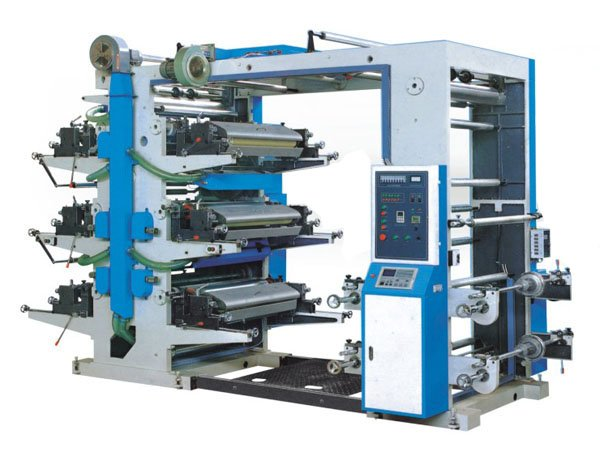 Automatic high speed leather 6-color flexo Printing Machine supplier